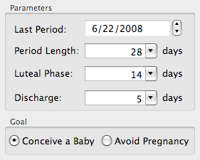 Ovulation Calendar Options